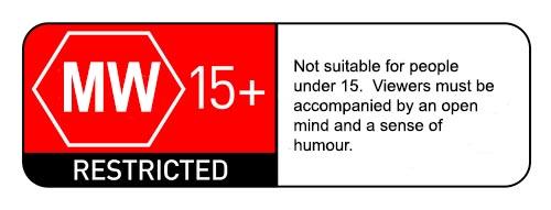 mightwar cinema rating stamp - 500pixels