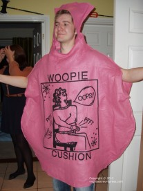 Human Woopie Cushion costume