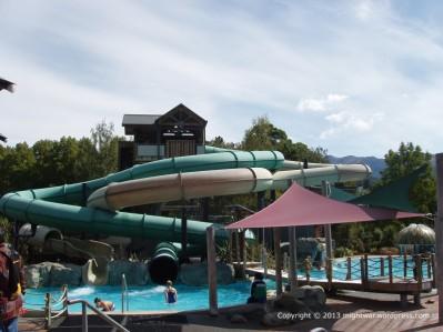 Hanmer Springs Thermal Reserve slides
