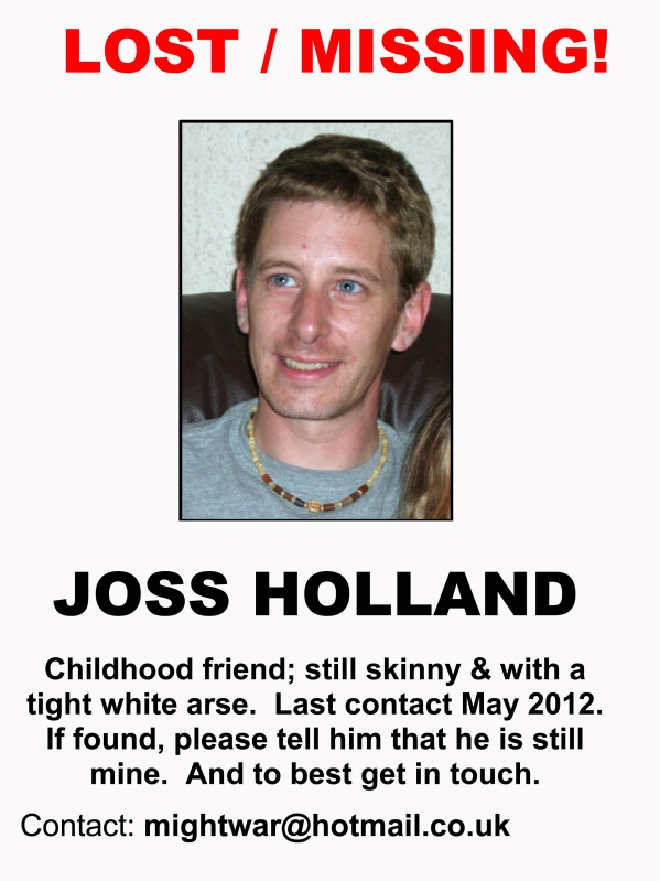 Lost poster for Joss