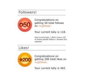 3-month anniversary blog stats