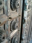 Detail of a Wooden Door