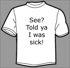 told ya t-shirt
