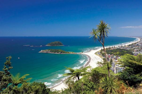 View from Mount Maunganui by Chris McLennan