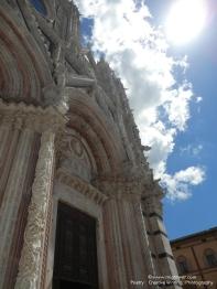 Duomo di Siena main entrance
