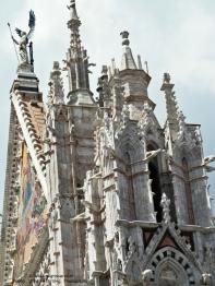 Duomo di Siena - Upper facade detail