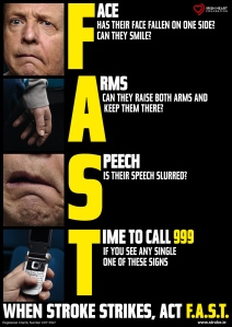 Stroke F.A.S.T poster