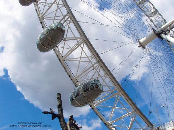 Beneath the London Eye