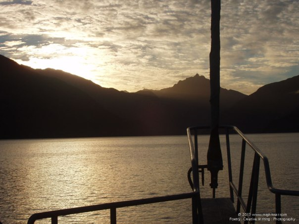 Sunrise on Doubtful Sound