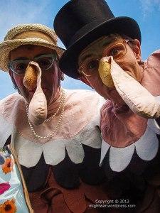 Turkey costume detail
