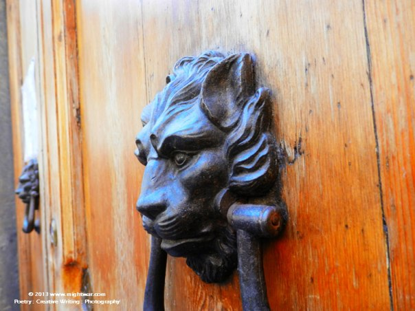 Lion Door Knocker #1