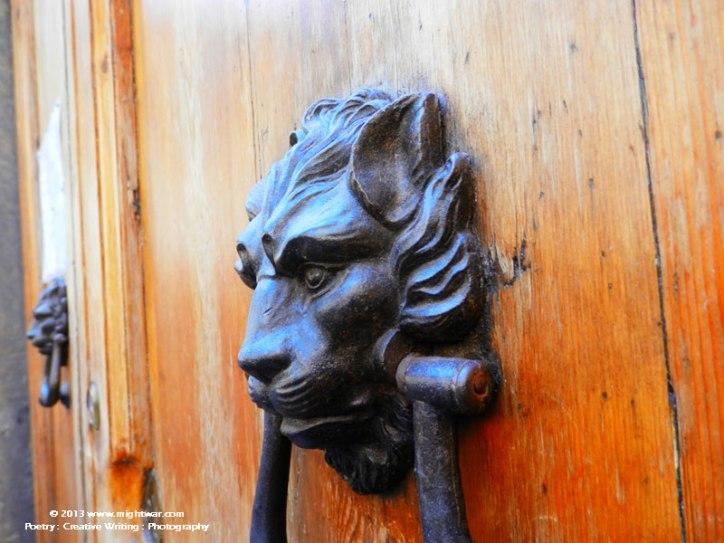 Lion Door Knocker #1
